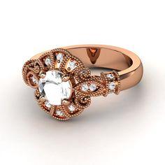 Rose Gold Chantilly Ring