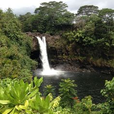 Rainbow Falls in Hilo, HI