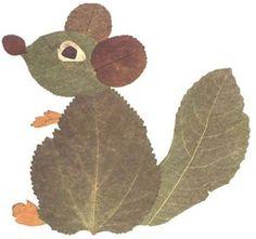 31 foto ideas para trabajar con hojas secas ~ Imágenes Creativas