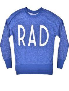 Metallic Rad Sweatshirt