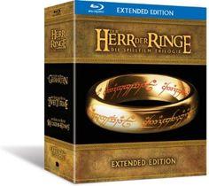 Der Herr der Ringe - Die Spielfilm Trilogie Extended Edition Blu-ray: Amazon.de: Howard Shore, Sean Astin, Cate Blanchett, Billy Boyd, Ian M...