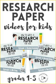 Video series by Teac Library Lessons, Writing Lessons, Writing Resources, Teaching Writing, Writing Activities, Writing Curriculum, Kindergarten Writing, Writing Process, Writing Services