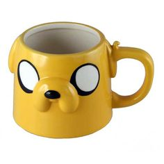 Adventure Time Jake Face Molded 16 oz. Mug - Classic Imports - Adventure Time - Mugs at Entertainment Earth