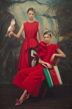 31 весенний образ из коллекции Delpozo для жизни как в сказке | Журнал Harper's Bazaar