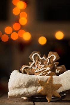 Easy Christmas gingerbread cookies! Christmas Gingerbread, Gingerbread Cookies, Baking Ideas, Simple Christmas, Goodies, Tasty, Chic, Sweet, Desserts