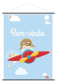 Banner Aviador - P | CompraFesta | Elo7 Planes Birthday, 3rd Birthday, Banner Aniversario, Airport Theme, Diy And Crafts, Crafts For Kids, Airplane Party, Belly Painting, Star Party