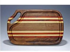 exotic wood clock | steak board exotic woods variety of cutting boards