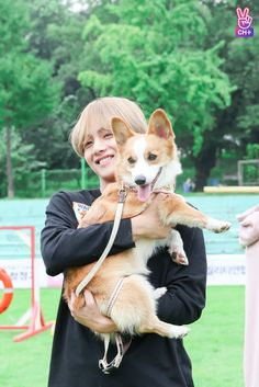 I can't decide who is cuter -I can, I love animals but Taehyung is the most adorable thing in the universe ○w●