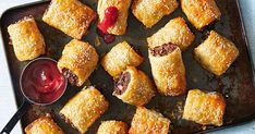Bite-sized sausage rolls with the hearty flavour of a classic beef pie - great for kids and adults alike.