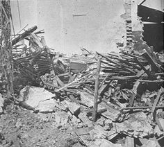 DAMAGE AND WRECKAGE CAUSED BY JAPANESE AIR ATTACKS ON SINGAPORE SHORTLY AFTER JAPAN'S DECLARATION OF WAR ON BRITAIN AND AMERICA Covering Date: 01/12/1941
