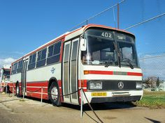 Mercedes O-303, 1981, Egged bus company museum, Holon, Israel
