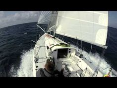 Toby Isles' Mini Transat Qualifier Video | Solo Sails Sailmakers