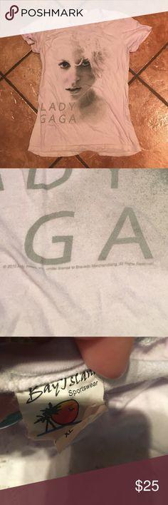 Rare Lady Gaga Tye Dye Concert Tour T Shirt Top EUC- Smoke free . Purple tie dye background !! The material is light & so soft. 2010 tour shirt. Collectable & Rare. Gaga Tops Tees - Short Sleeve