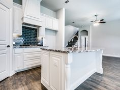 are such a great compliment to any kitchen. These black ones go great with the black and white Bloomfield Homes, White Granite, New Home Builders, New Homes For Sale, Subway Tile, Inspired Homes, Home Buying, Home Kitchens, Building A House