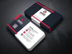 Line Business Card by Creative Idea on @creativemarket