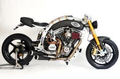 Sbay Flying 1800 Custom Cafe Racer. What a beaut brute