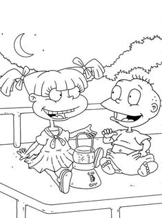 Dylan and parents coloring pages for kids, printable free ...