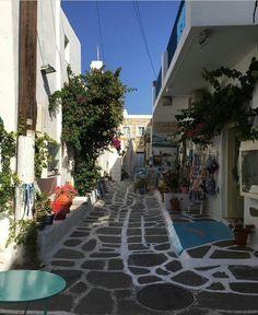 Beautiful Naoussa-Paros-Greece