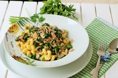 pasta spargel grün  nudeln vegan vegeratisch 1