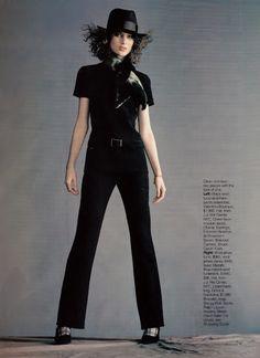 ☆ Shalom Harlow | Photography by Gilles Bensimon | For Elle Magazine US | June 1996 ☆ #Shalom_Harlow #Gilles_Bensimon #Elle #1996