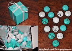 Great favors for a Breakfast at Tiffany's bridal shower!