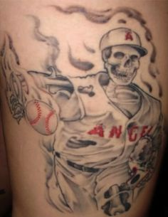baseball tattoos | 30 MLB Tattoos For 30 MLB Teams