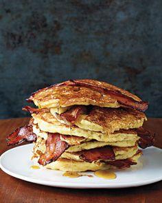 [martha stewart] bacon pancakes