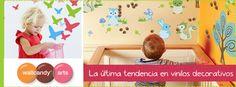 Vinilos decorativos infantiles Wallcandy arts a un 70% de descuento. La forma más sencilla y divertida de transformar su habitación. ¡Ahora en http://www.babytendence.com/!
