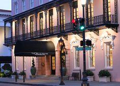 Pretty In Pink- The Mills House Wyndham Grand of Charleston, South Carolina