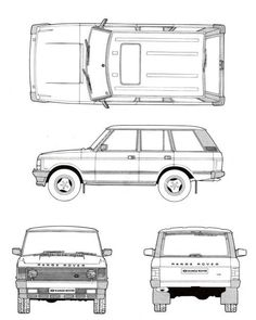 Range Rover Classic -Read More – Range Rover Classic, Range Rover Sport, Range Rovers, Automobile, Land Rover Models, Best 4x4, Jaguar Land Rover, Best Classic Cars, Car Drawings