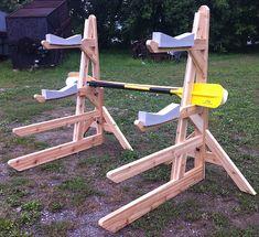 Ultimate Kayak Racks | 2 kayak 2 SUP