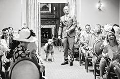 Sheep as a ring-bearer??! Sunshine and Sheep at a Brockencote Hall Wedding | Worcestershire Wedding Photography www.gemmawilliamsphotography.co.uk