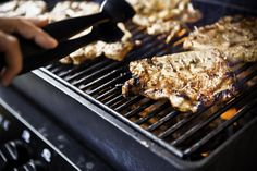Greek-style grilling is pure and simple. This marinade can be used for grilling chicken or Greek pork chops that the whole family will enjoy.