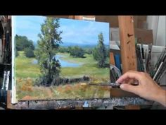 Brushstrokes in Acrylic Paint: Layering Techniques - YouTube
