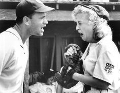 There's no crying! ... There's NO CRYING in BASEBALL!     Best line in a movie....Ever....