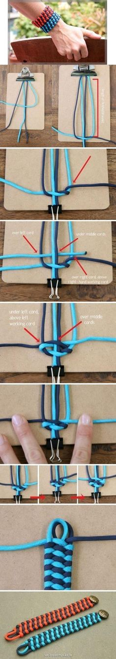 30 Cool Bracelet Tutorials For Girls | http://fashion.ekstrax.com/2014/03/cool-bracelet-tutorials-for-girls.html