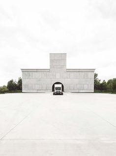 Dhooge and Meganck Architecture's sacral interpretation of production site