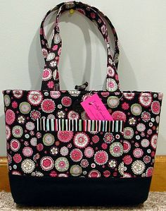NWT Totally Toteable Totes Circles by TotallyToteableTotes on Etsy