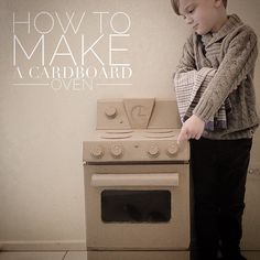 How to make a cardboard oven - mumaroo.com.au