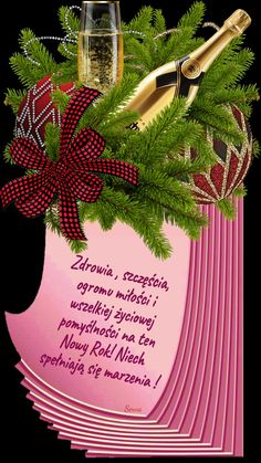 Kartka noworoczna 💋🎉🍾🥂🎈💋💙🤍🍾🥂🎀🎈💋🎉🤍🍾🥂🎀🎈💙🍾🥂 New Year Wallpaper, Christmas Wreaths, Christmas Ornaments, New Years Eve, Happy New Year, Herbs, Table Decorations, Holiday Decor, Tai Chi