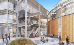 Gallery of UC Irvine Announces Plan for Sustainable Active Learning Building in the Heart of Campus - 4