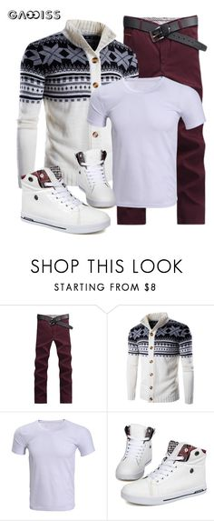 """""""SHOP - Gamiss.com"""" by ladymargaret ❤ liked on Polyvore featuring men's fashion and menswear"""