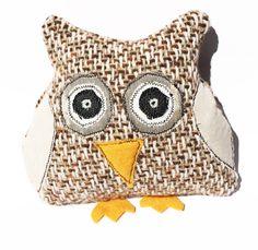 Texture Brown Mintchi Owl