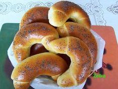Czech Recipes, Ciabatta, Bagel, Baking Recipes, Food And Drink, Bread, Basket, Essen, Cooking Recipes