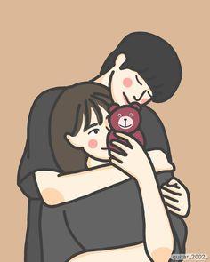 Love Cartoon Couple, Chibi Couple, Cute Love Cartoons, Cartoon Art Styles, Cartoon Pics, Anime Couples, Cute Couples, Cute Couple Gifts, Cute Couple Drawings