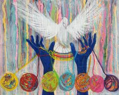 prophectic art pictures | Prophetic Message Sketch 20 What Woman Will Rise Up Yarn Hands Woven ...