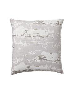 Skylake Toile Pillow Cover