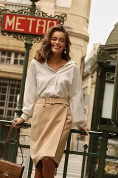 Paris Chic, Parisian Chic Style, Look Fashion, Paris Fashion, Fashion Beauty, Latest Fashion, Fashion Trends, Classy Outfits, Chic Outfits