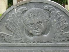 Old New England tombstone