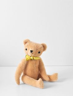 handmade teddy bear by Polka Dot Club